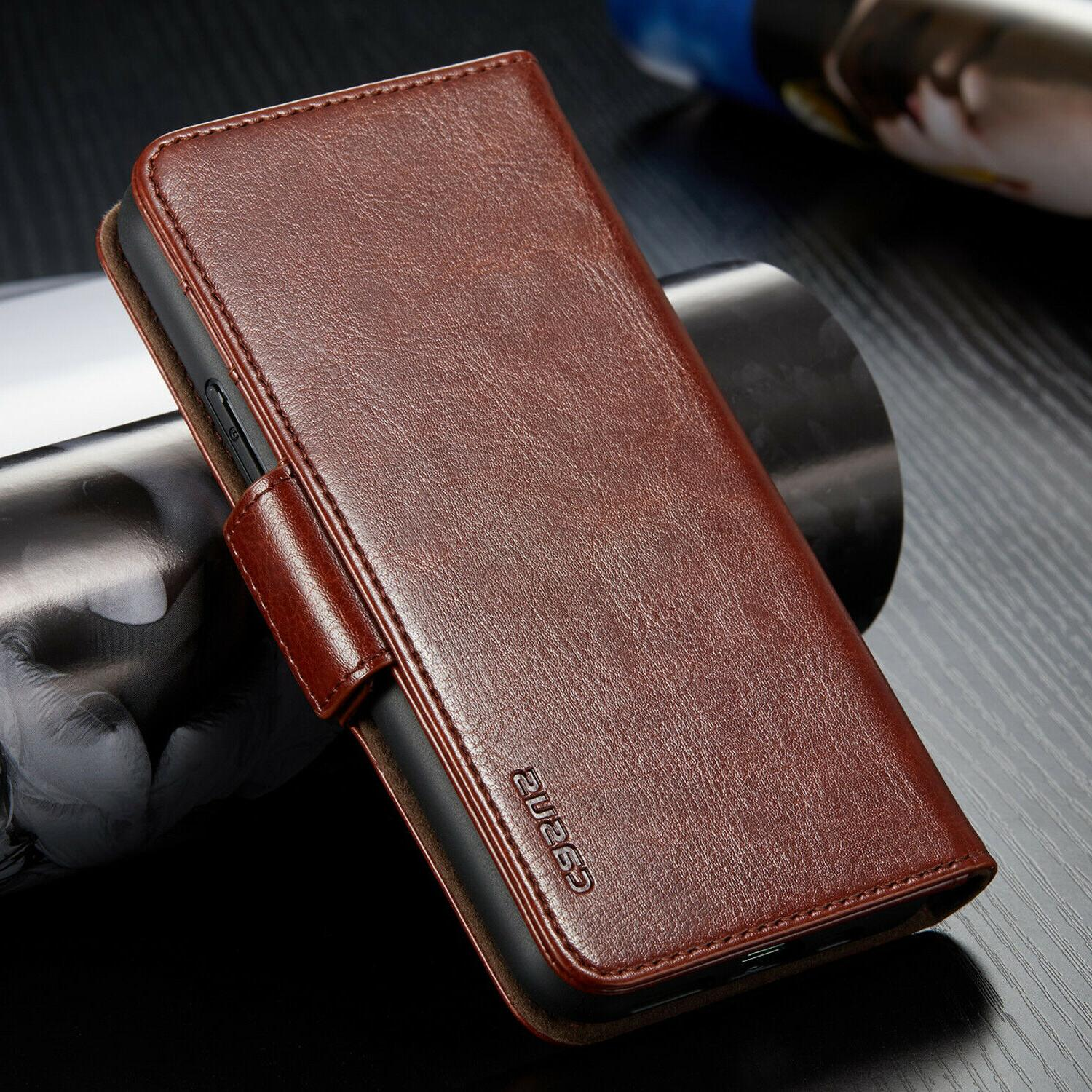For iPhone Pro Max Removable Leather Card