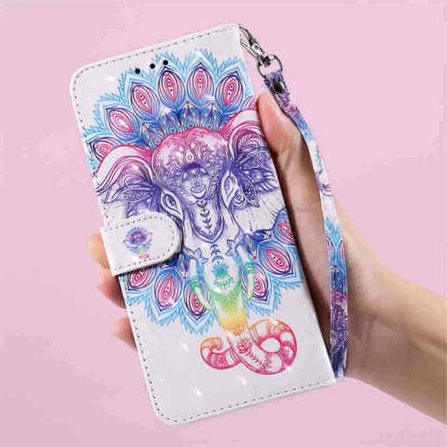 For iPhone 12 Pro Max Z4 Holder Leather Case