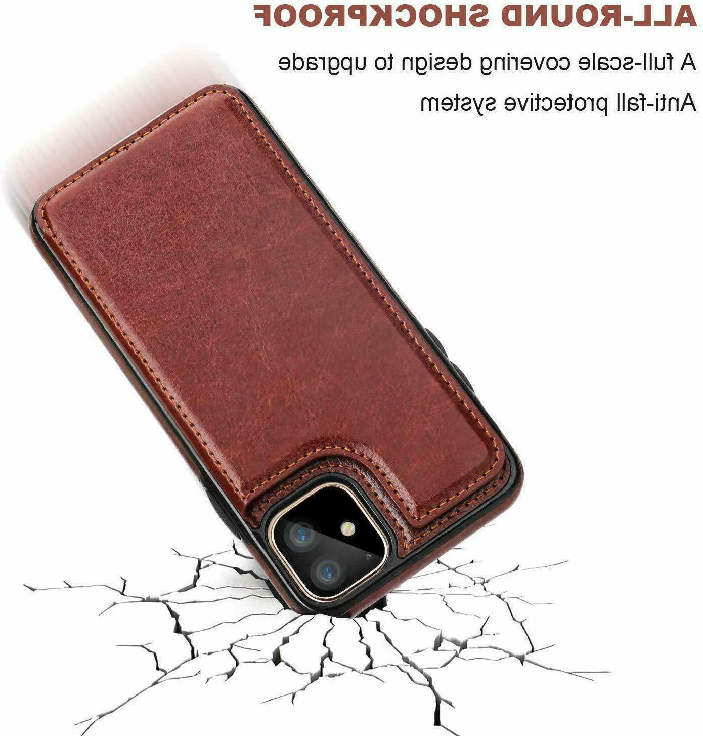 iPhone 12 Wallet Mini / / Magnetic Cover