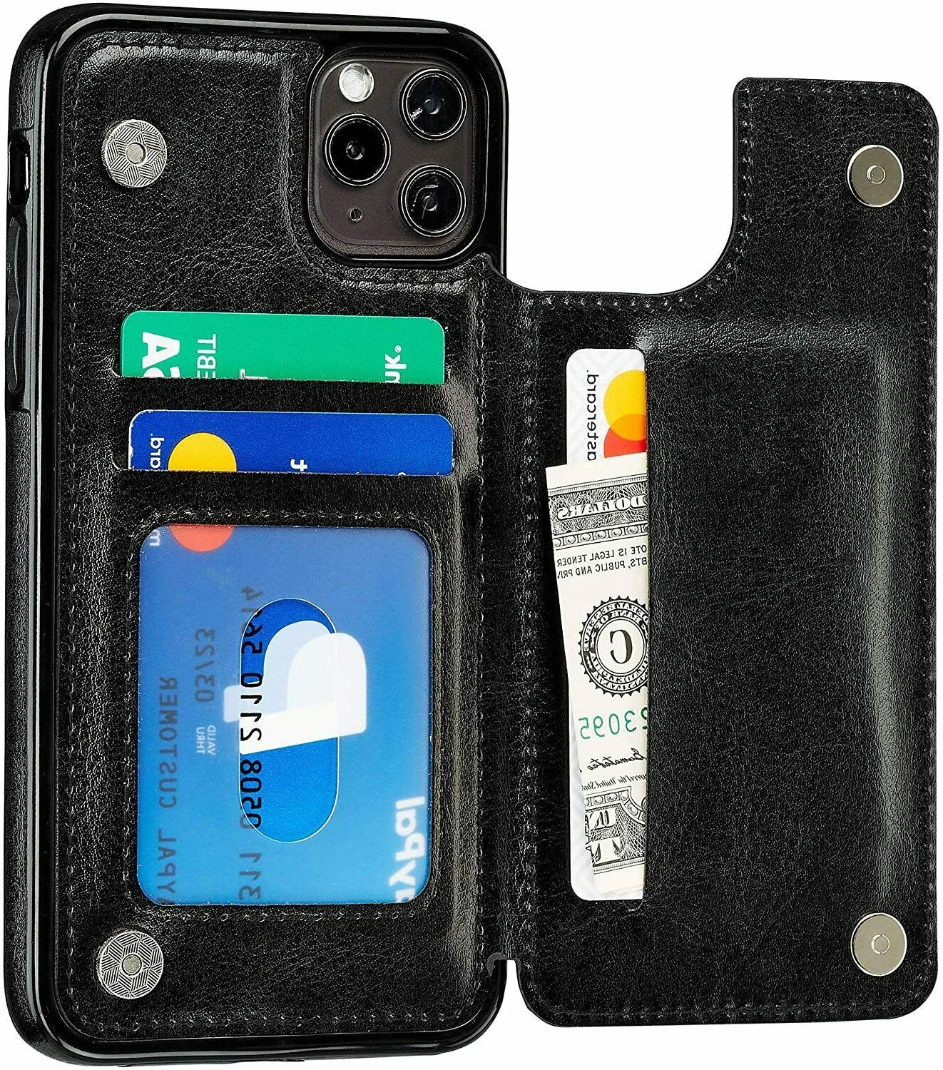 iPhone 12 Mini 12 Pro / Max Leather Magnetic