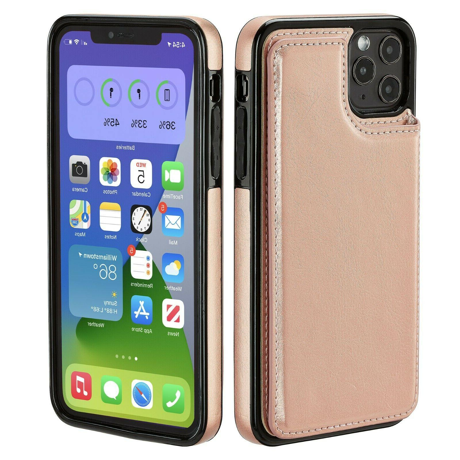 iPhone 7 11 Wallet Card Flip Cover for