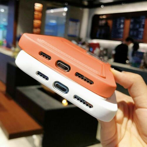 For iPhone 12 Pro Max 11 XS 8 Case Wallet Holder Cover