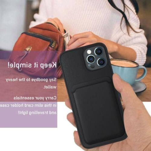For iPhone Max 12 Mini 12 Pro Case Cover+MagSafe Card