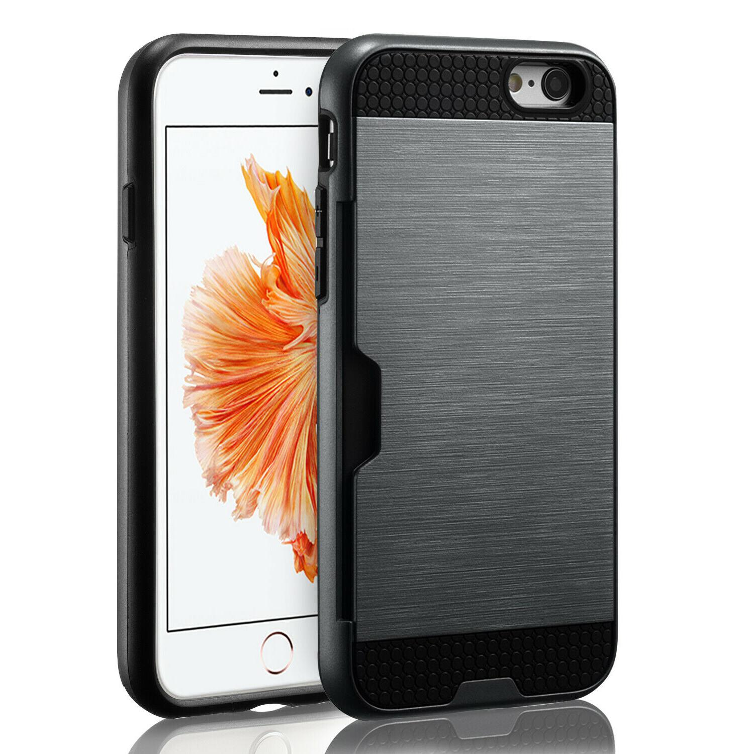For iPhone 8 Wallet Shockproof Cover