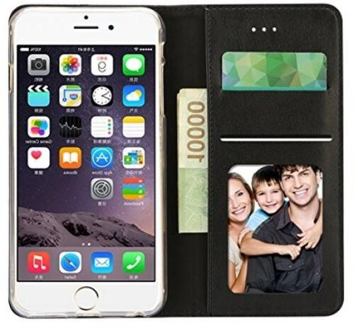 IPhone 5.5 Inch Wallet Case ID PU