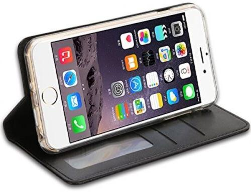 IPhone 6S Plus 5.5 Case, Wallet ID Credit PU