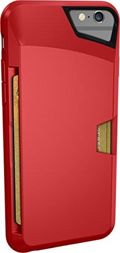 Silk Wallet Credit Card Grip Cover - Rouge