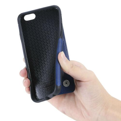 For iPhone 7 8 Plus MAX X Zipper Wallet Case Cover