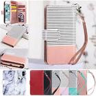 For iPhone 6S 7 8 Plus X XS Luxury Leather Magnetic 9 Cards