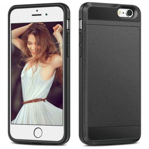 iPhone 6S Case, Upgraded Case Holder ID Dual...