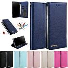 iPhone 7 8 XR/XS/XS Max Slim Silk Leather Card Slot Wallet S