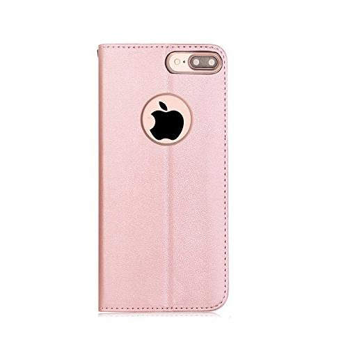 FYY Leather Wallet Case 7 Plus/iPhone 8 Plus, Flip Folio Case Cover with for iPhone Plus