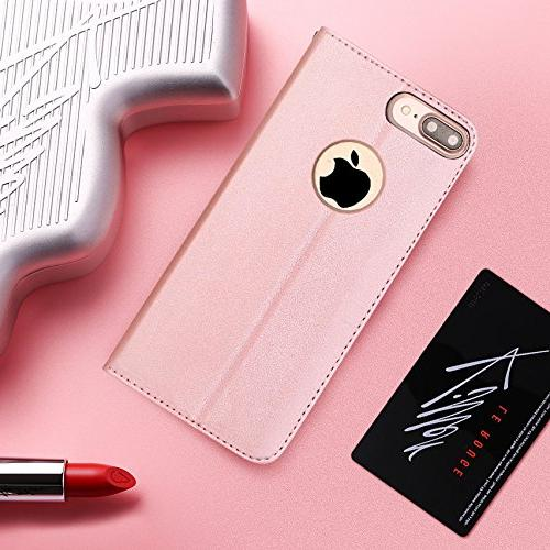 FYY Wallet Case for 7 8 Flip Folio with iPhone 8/7 Plus