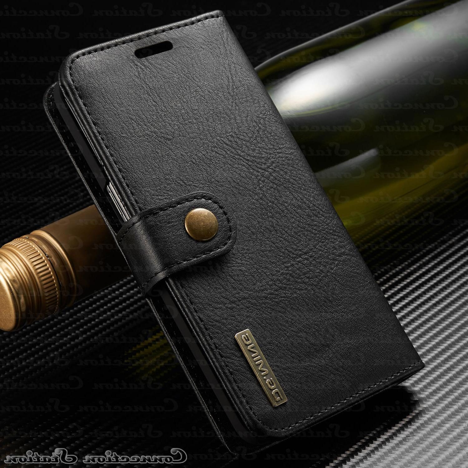 iPhone X 8 7 Leather Wallet Card