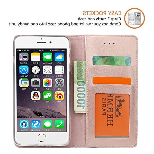 iPhone 8 / 7 IPHOX Case with Flip Notebook for iPhone
