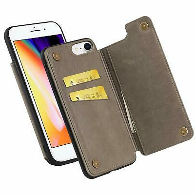 iphone 8 iphone 7 wallet case pu