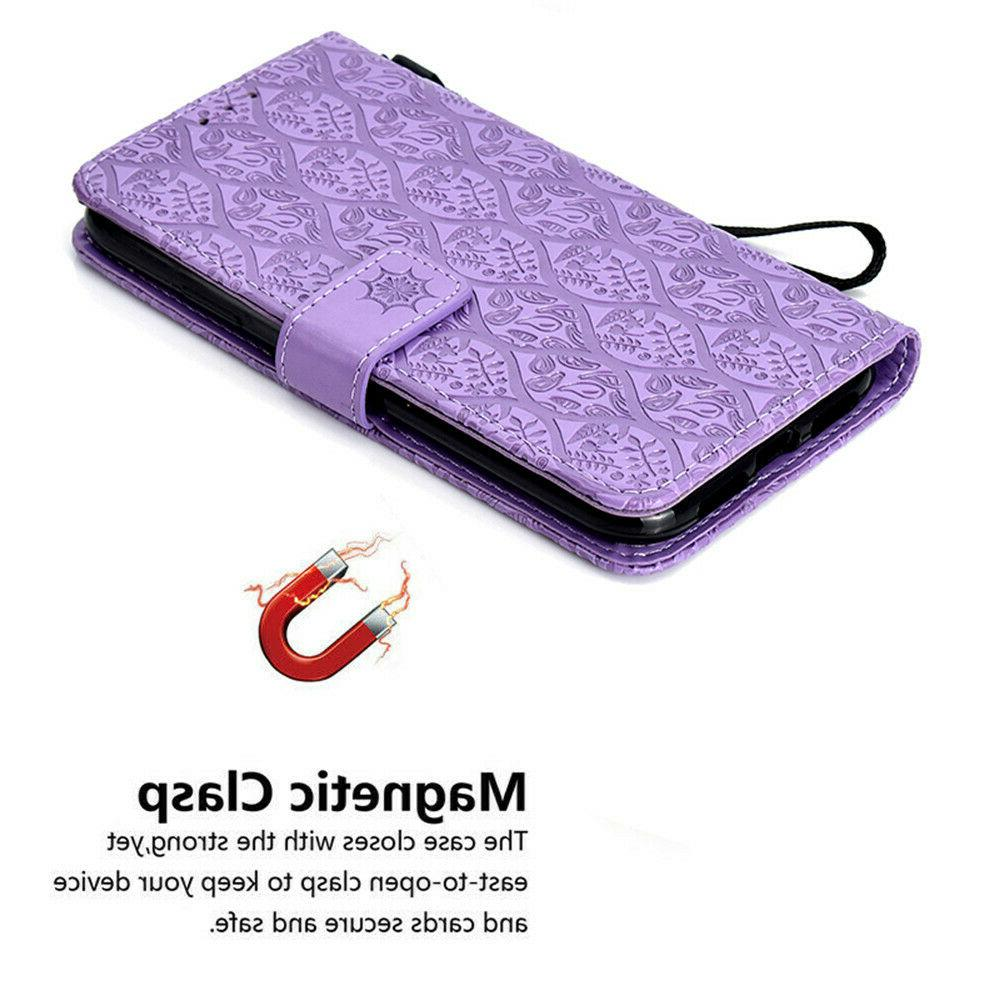 For 7 Flip Leather Strap Case