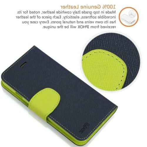 iPhone Plus Case, IPHOX Folio Wallet Case with...