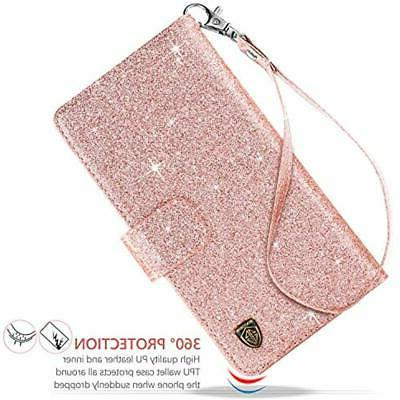 IPhone Sleeves Wallet Glitter Bling