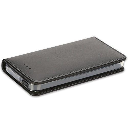 iPhone Case, 5S Closure Slots Money Pouch, Case Cover Stand Feature Book Case iPhone