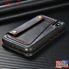 For iPhone X 8 6s 7 Plus Genuine PU Leather Wallet Detachabl