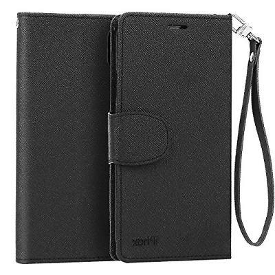 iPhone X Wallet Case, IPHOX iPhone X Leather Case Wallet Fli