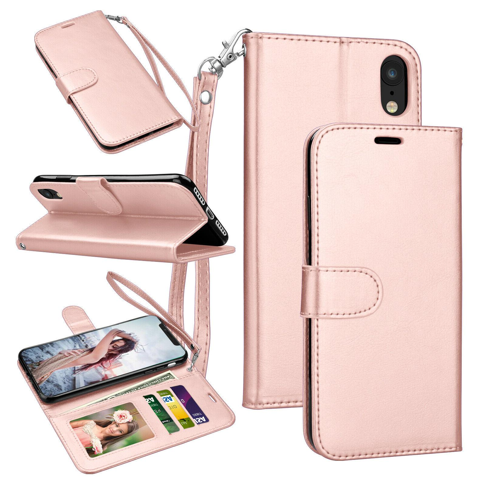 For X,XR,XS Max,6,6S,7,8 Plus Leather Card