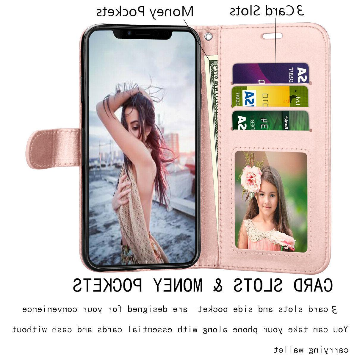 For iphone Plus Leather Card