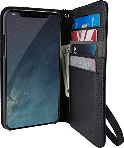 iphone x xs wallet case keeper of