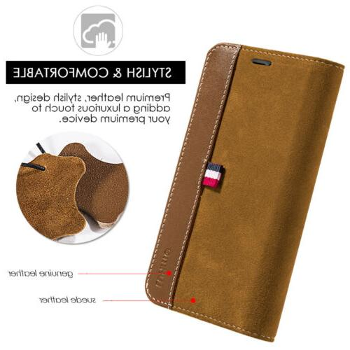 For Wallet Phone Leather Card