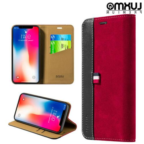 iphone x xs wallet phone case