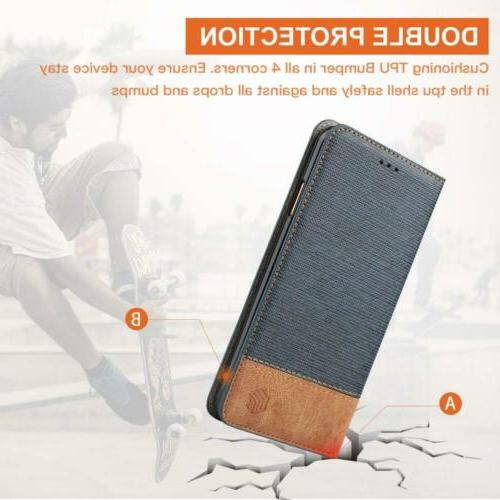 for XR Wallet Case,WenBelle Series,Stand Feature,Double Layer...