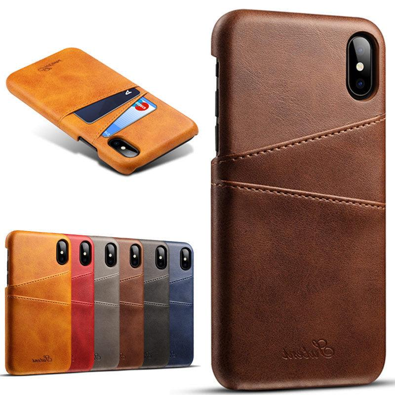 iphone xs max xr leather wallet