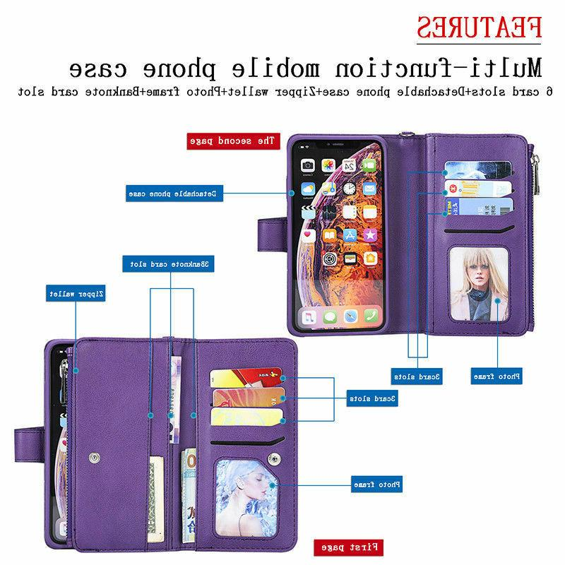 For iPhone XR 6 Leather