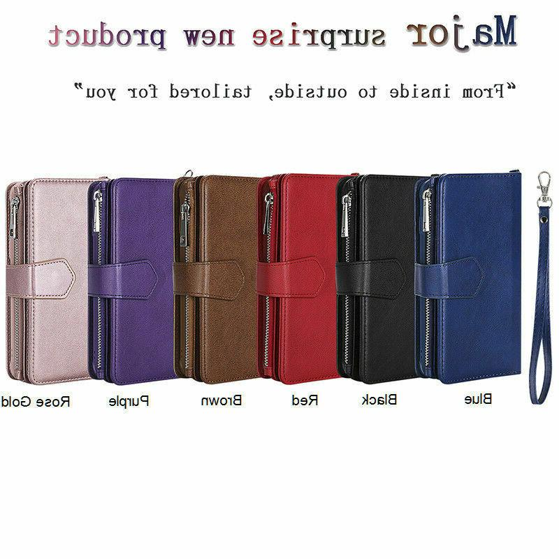 For iPhone XS XR 6 Leather