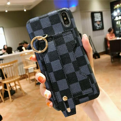 For iPhone XR 8 6s Wrist Card Case