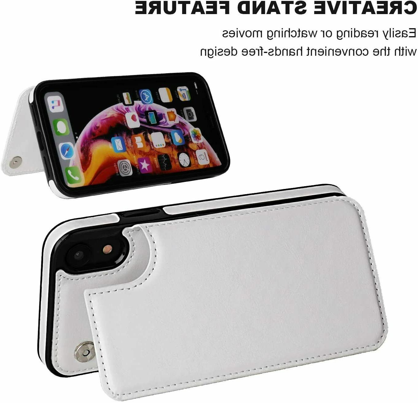 Leather Wallet Case X / Xs Max Cover Apple