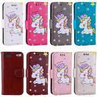 For iPod Touch 5/6th Gen Embossed Unicorn PU Leather Flip Wa