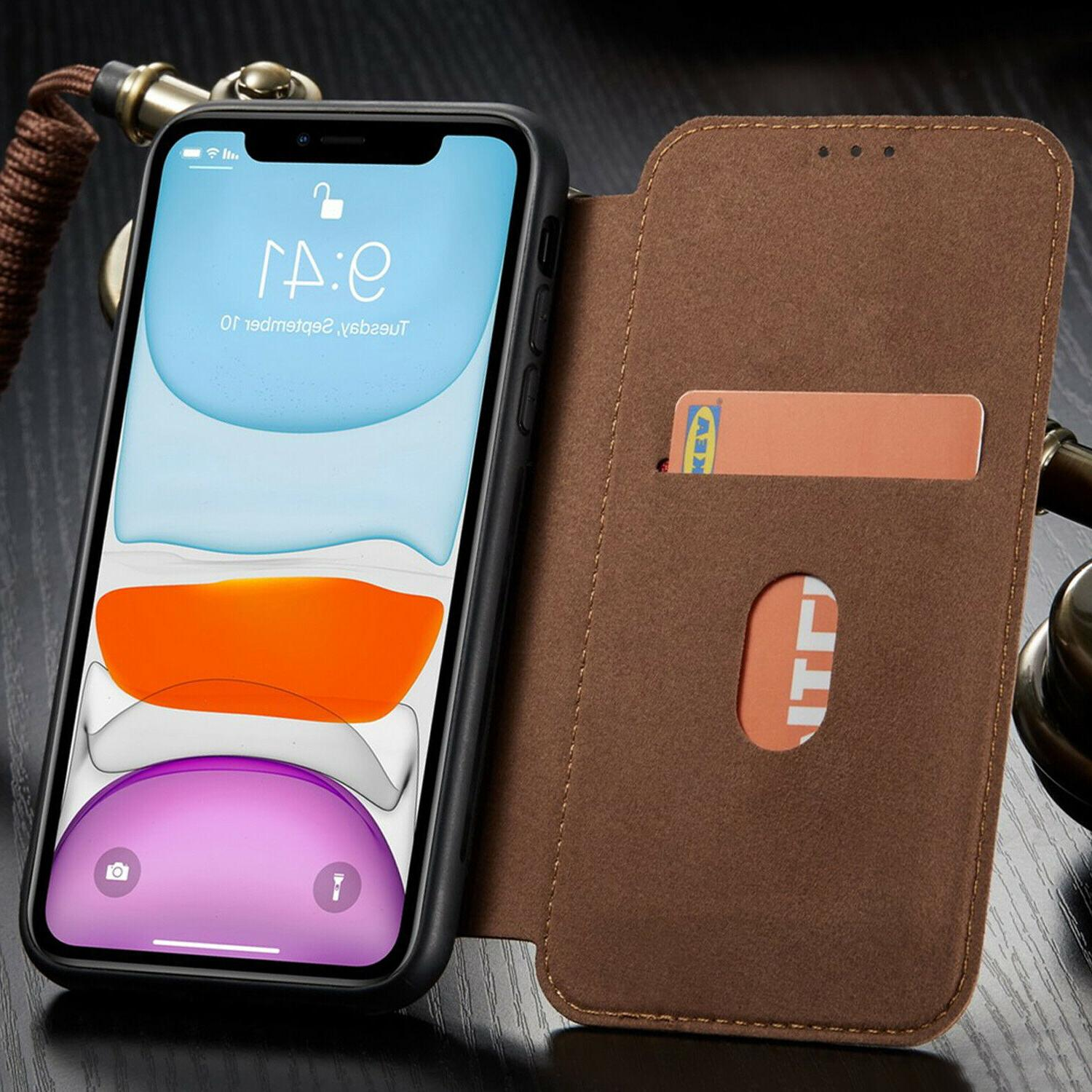 Leather Flip Cover Slim For XS MAX XR