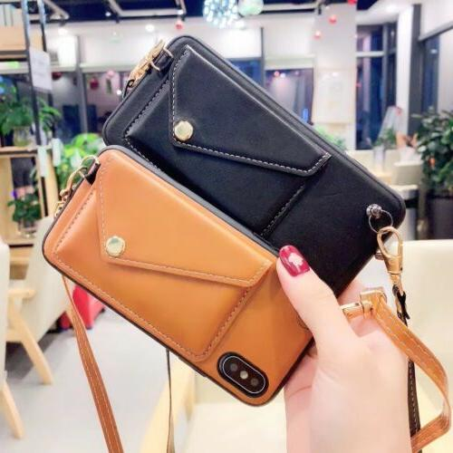 Leather Case with Strap iPhone 6 8
