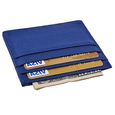 leather credit card case slim leather credit