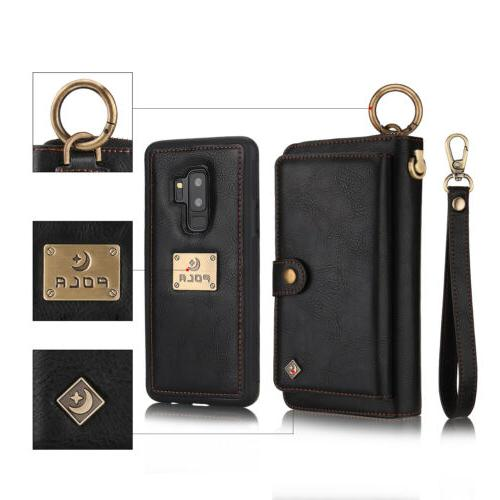 Leather Zipper Galaxy Note 20/S7-S20+