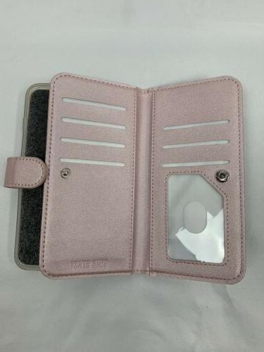 Leather Gear Folio Pink