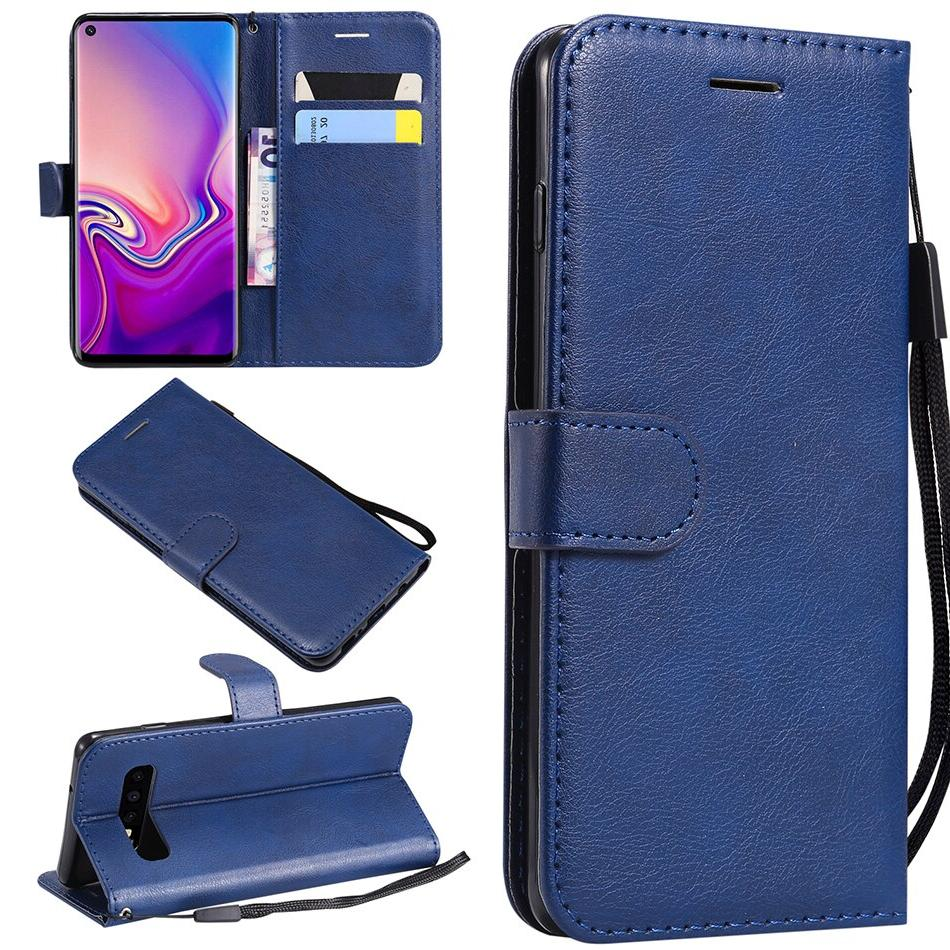 Leather Flip for Samsung Galaxy S10e S10 S9 S7 S6 S3 A9 A6 2018 A10E A2 <font><b>Phone</b></font> B128