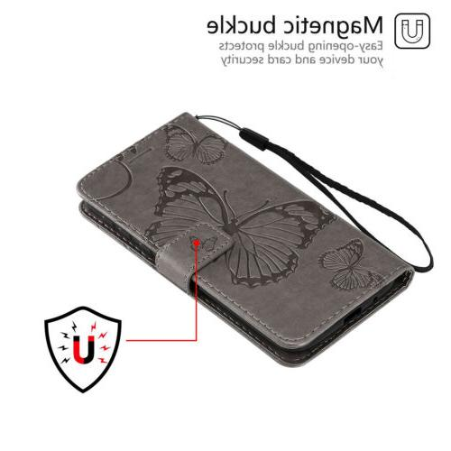 Leather Magnetic Flip Stand Motorola G7 Power Z4 Play