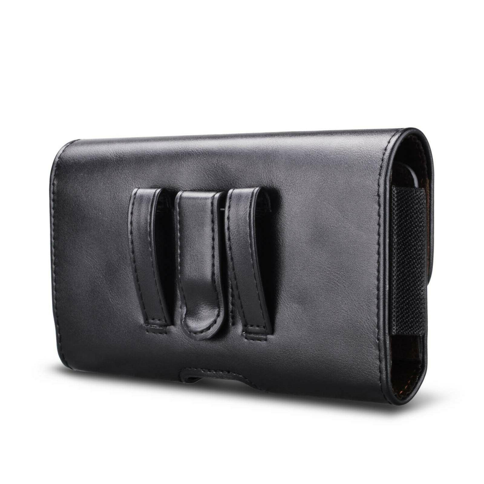 Leather Phone Holster Pouch Holder