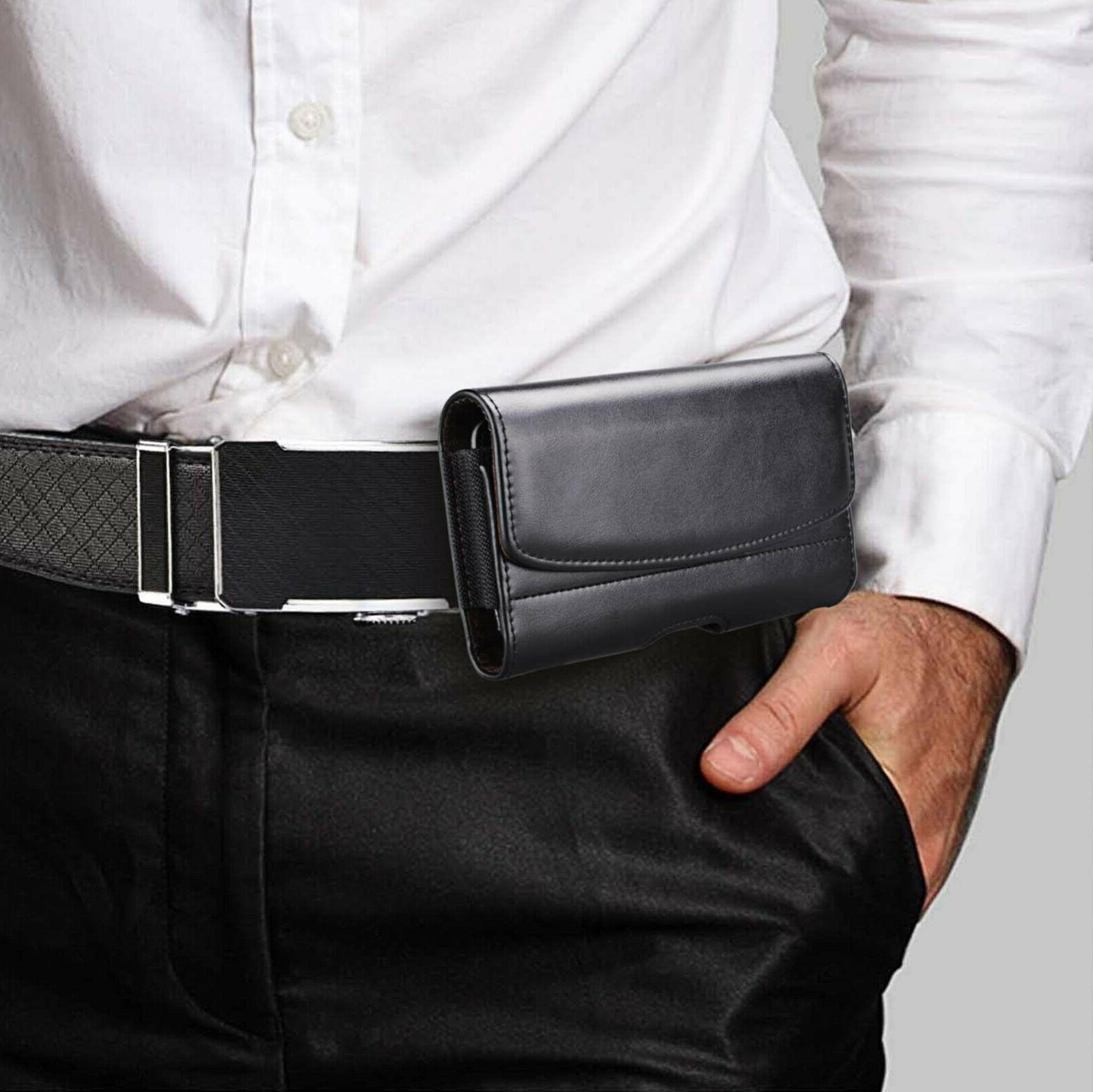 Leather Phone Holster Holder