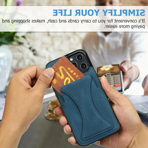 Leather Wallet Stand 13 12 11 8 7 Plus