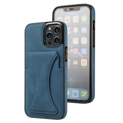 Leather Stand Case iPhone 13 12 Pro 11 XS 7