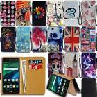 Leather Wallet Card Stand Flip Case Cover For Various LG Sma